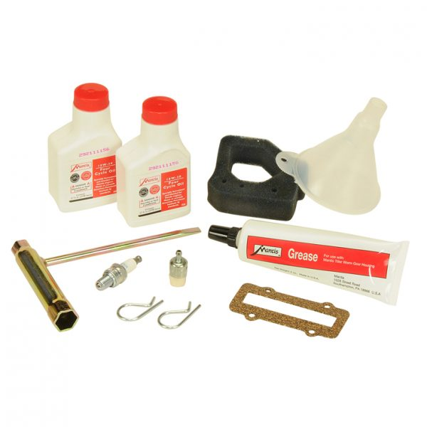 Handy item kit for Mantis 4 stroke tiller with Honda GX25 engine
