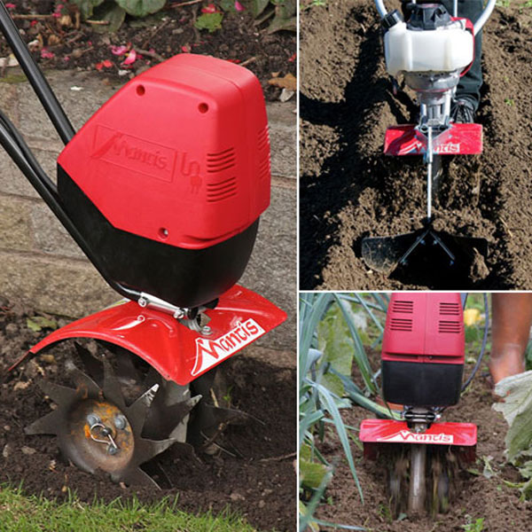 Classic Electric Tiller Gardening Package