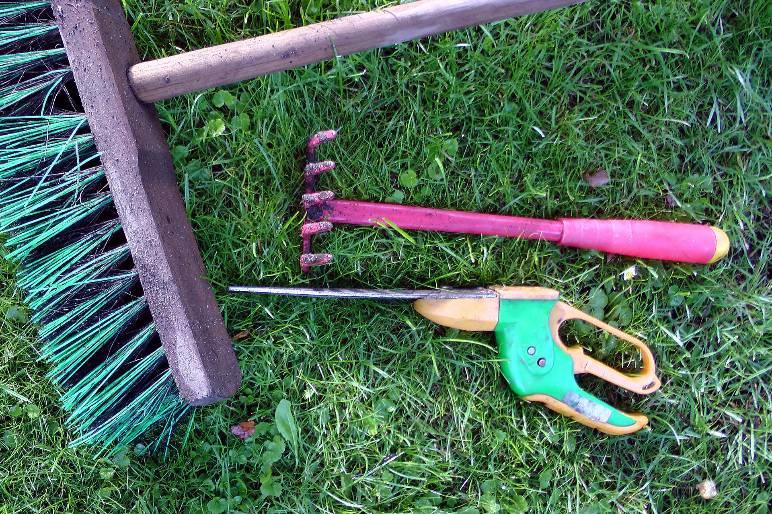 15 - hand rake - public domain
