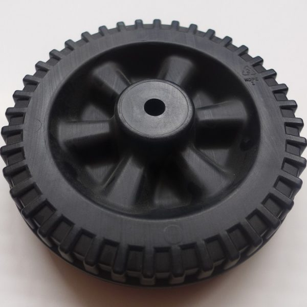 replacement wheel for Mantis Backporch rotative composter tumbler