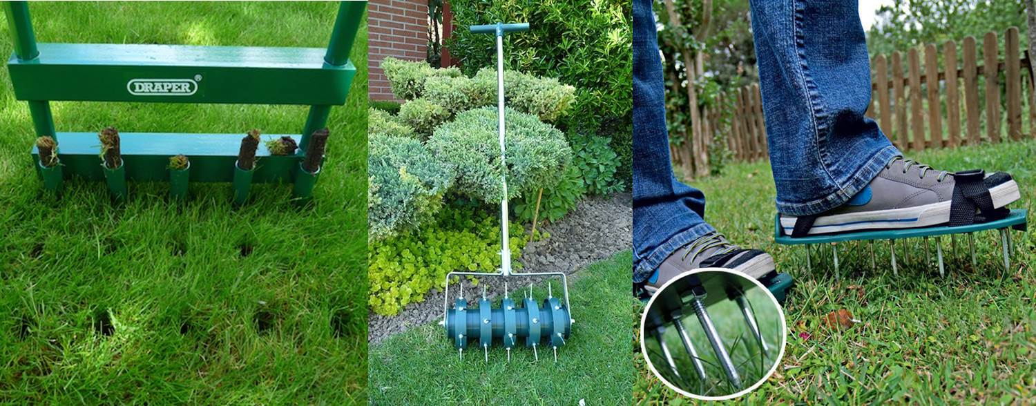 aerate your lawn 2
