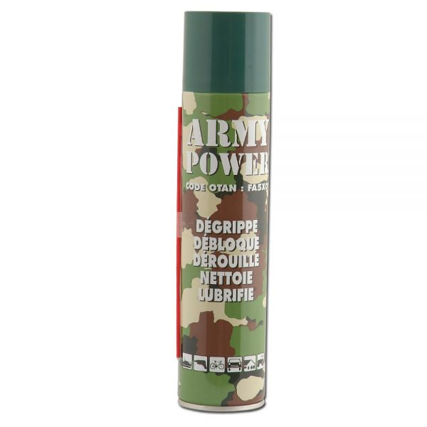 army power multifunction lubricant for mantis tillers tines