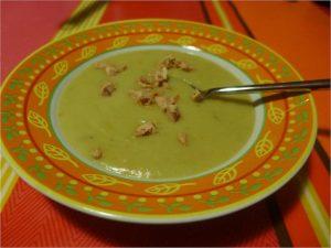 winter jerusalem artichoke velouté soup