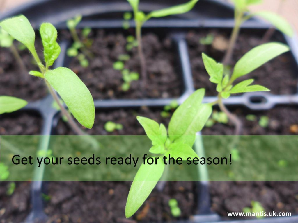Get your seeds ready for the season!