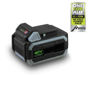 mantis battery lithium ion 40 V for cordless garden tools