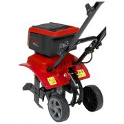 Mantis electric cultivator multi position wheels
