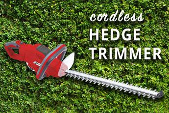 Mantis Cordless Hedge trimmer