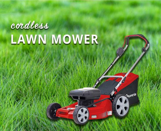 Mantis Cordless Lawn Mower