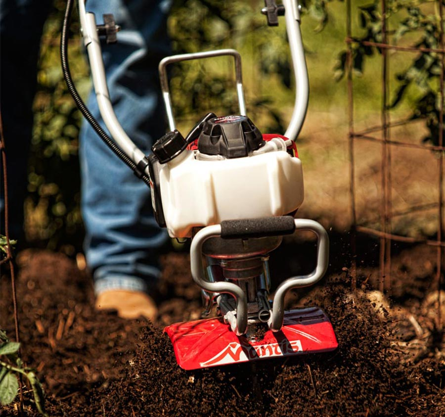 Why choosing a Mantis Tiller?
