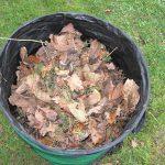 mantis gardening pop up leaves bag
