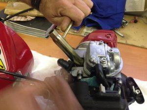 change the spark plug 3