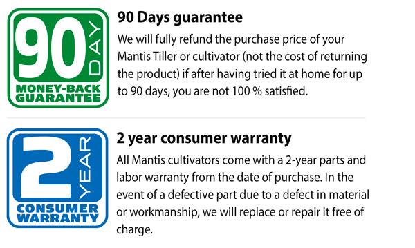 Mantis Electric cultivator 1000W
