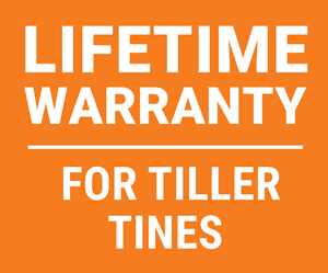 Lifetime tines warranty