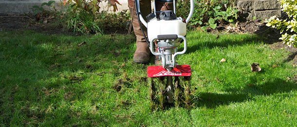 Mantis Tiller Aerator Attachment